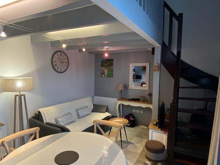 Duplex cosy du phare d'Honfleur