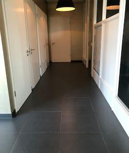 Part of the hallway on the ground floor.