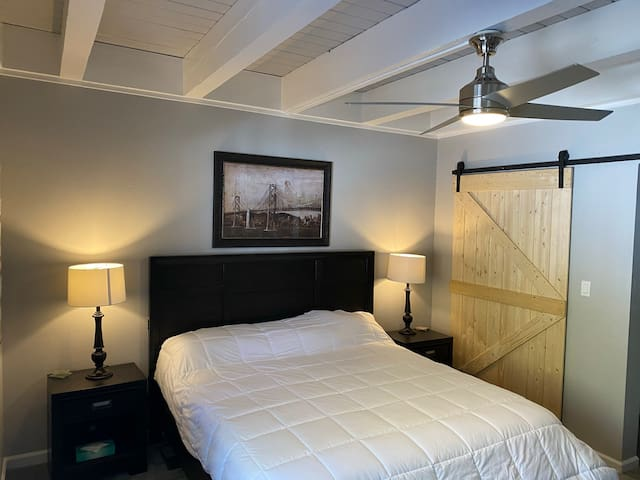 Newly Remodeled Master Bedroom with a King Adjustable bed (April 2020)