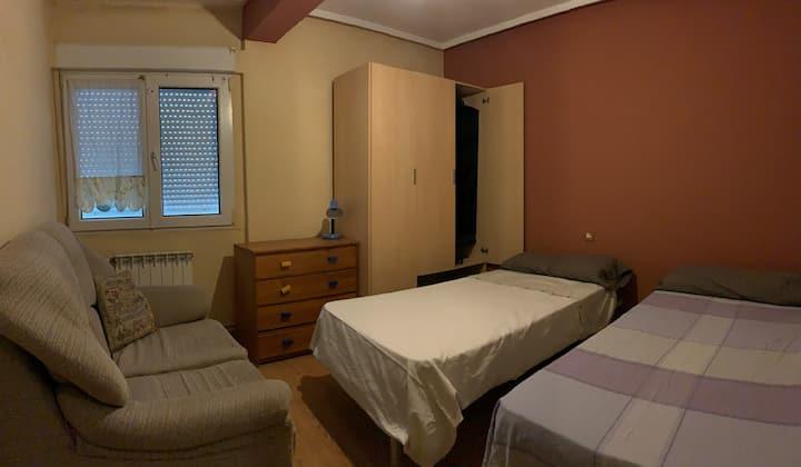 Habitación para 2 personas a 10 min playa