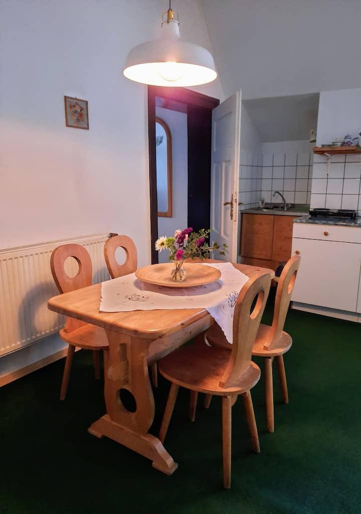 Das bequeme Apartment im Waldgut im Eulengebirge
