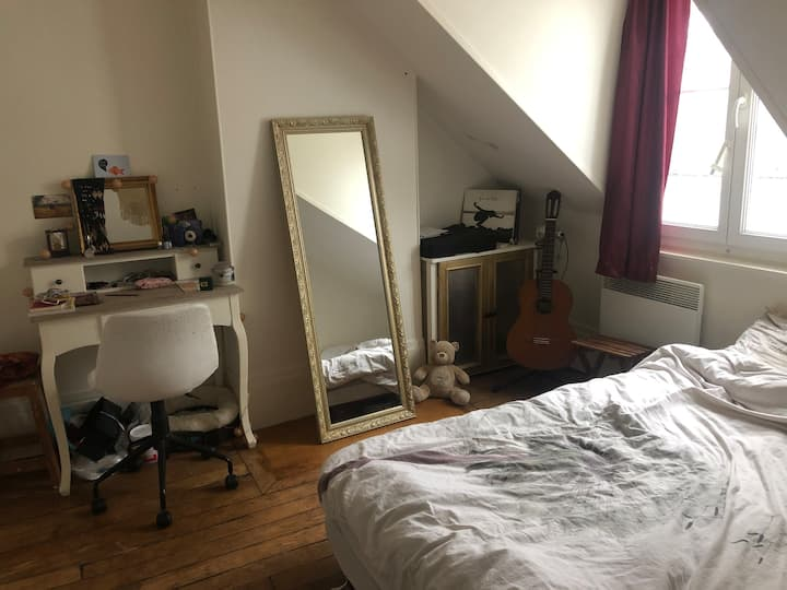 Nice bohemian appartement in the 17th