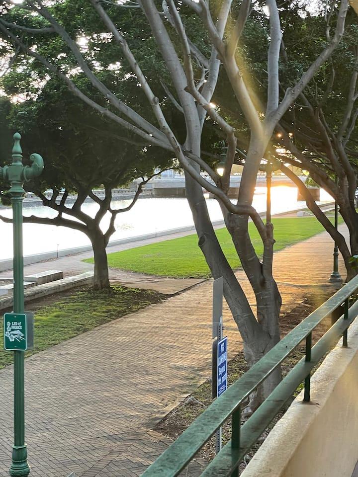 Gateway to Waikiki, 1 bd, view of AlaWai Promenade