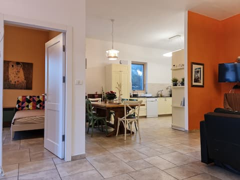 Authentic luxurious modern fully equipped flat