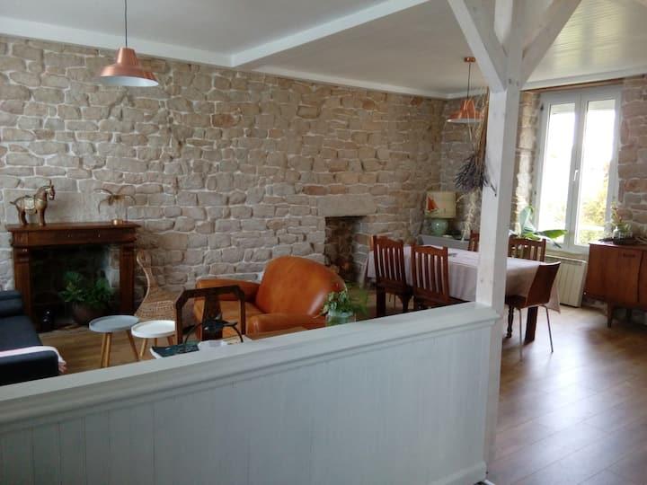 Agréable petite maison pour vacances sympathiques