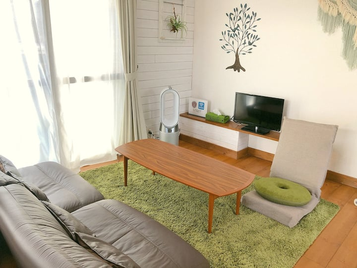 6 min walk from Enoshima sta! Vacation House LEAF