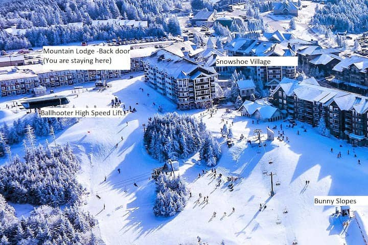 Stroll to Slopes, Village Area, Ski in/out Unit354