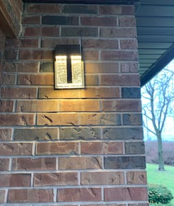 Light for front door and path