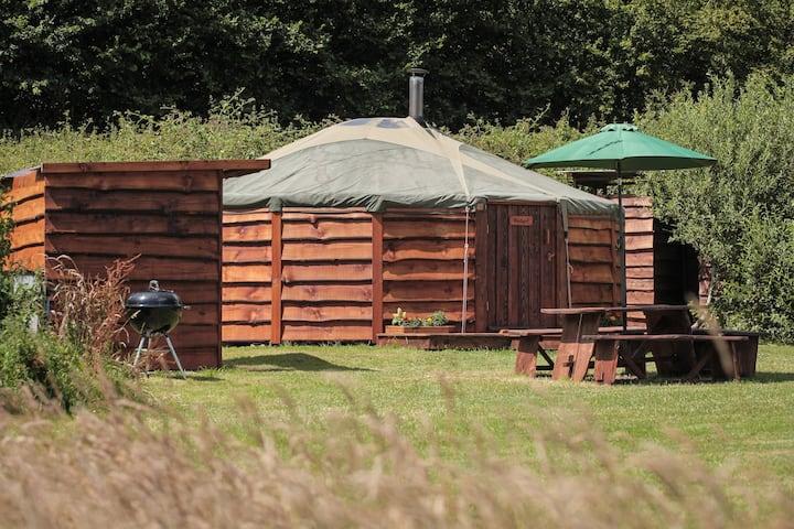 Badger Yurt @ Blackdown Yurts