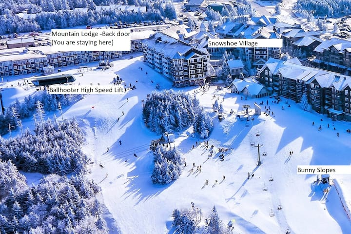 Stroll to Slopes, Village Area, Ski in/out Unit117