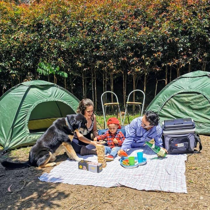 Índika - Zona de Camping