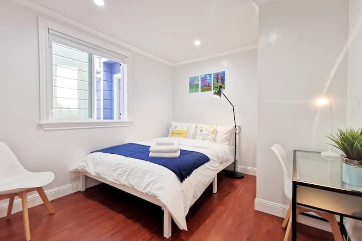 642B -Private 1-Bedroom Unit near Golden Gate Park
