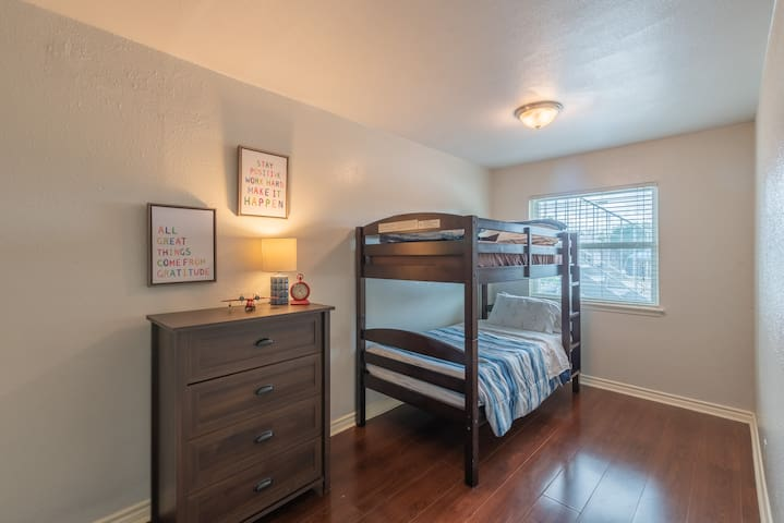 3rd Bedroom with bunk bed