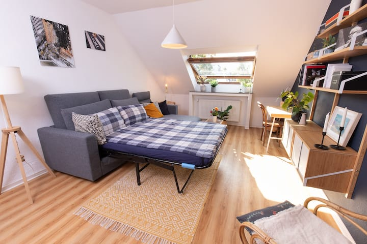 Cozy guest room in Lindenthal - newly refurbished!