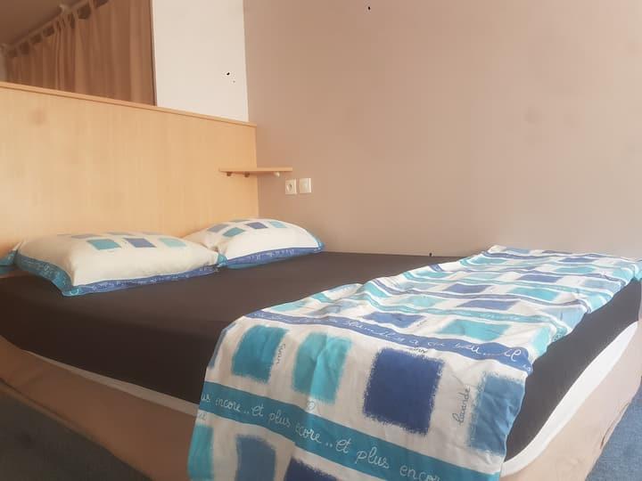 D1 Petit appartement sympa pour 2 personnes