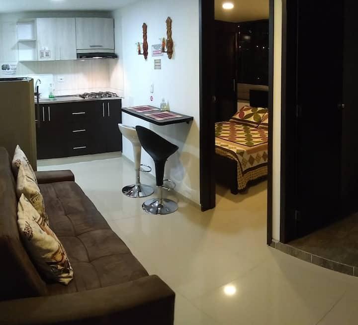 Acogedor apartamento amoblado Manizales