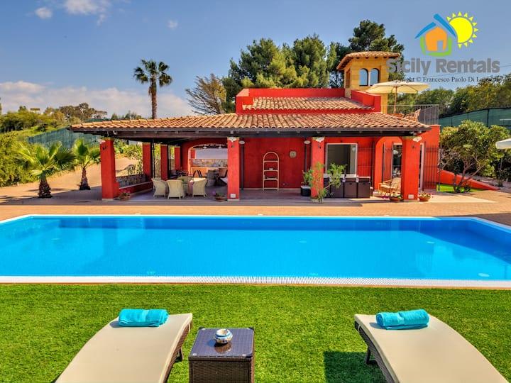 Villa avec piscine équipée avec tout le confort
