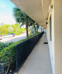 Ground floor condo with designated parking out side the door ,