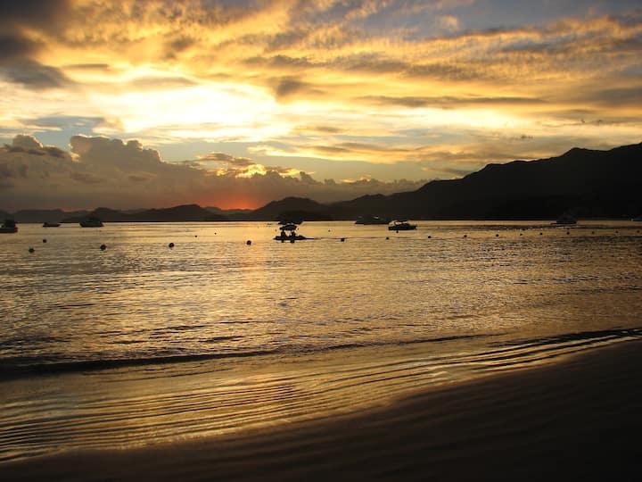 Apartamento a 50m da areia - Praia da Tabatinga