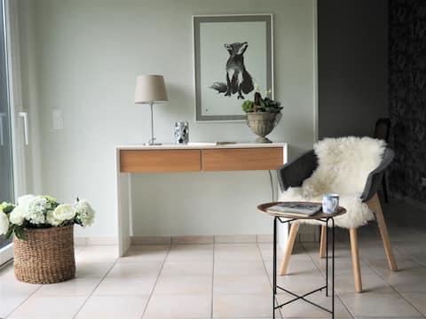 Schickes Wohnstudio mit Garten am Aasee