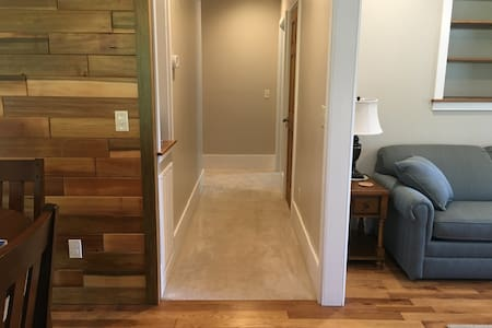 """Our 40"""" wide hallway has been designed for safe and easy navigation."""