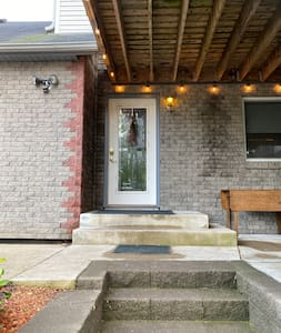 Entrance to Airbnb area.