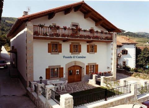 Posada El Camino: Habitación doble Camino Santiago