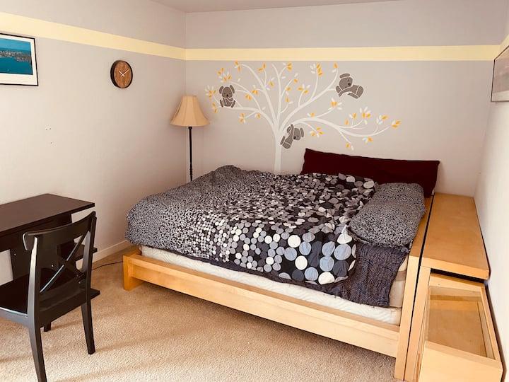 Lovely Private Room in Menlo Park near Stanford U