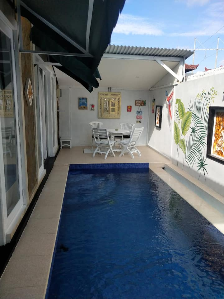 2BR Private House With Pool in Sanur