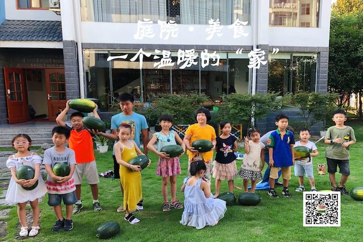 玖舍-东江湖16号院精品度假别墅|亲子民宿|带庭院独栋别墅