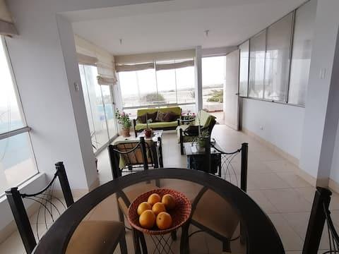 Casa primera fila en playa Caleta Vidal