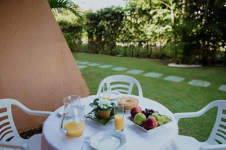 Mesa para café da manhã