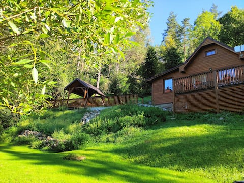 THE OWL ROCK CABIN W/SAUNA in the National Park!