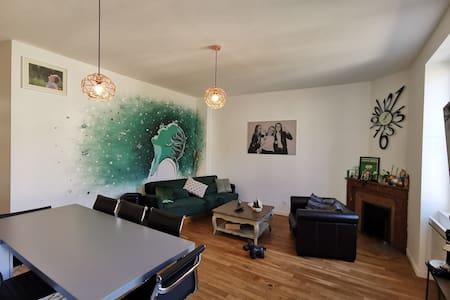 Appartement F4 dans les murs d'1 maison Bourgeoise