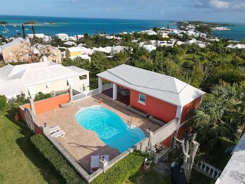 """Long Bay"" Studio Overlooking Bermuda"