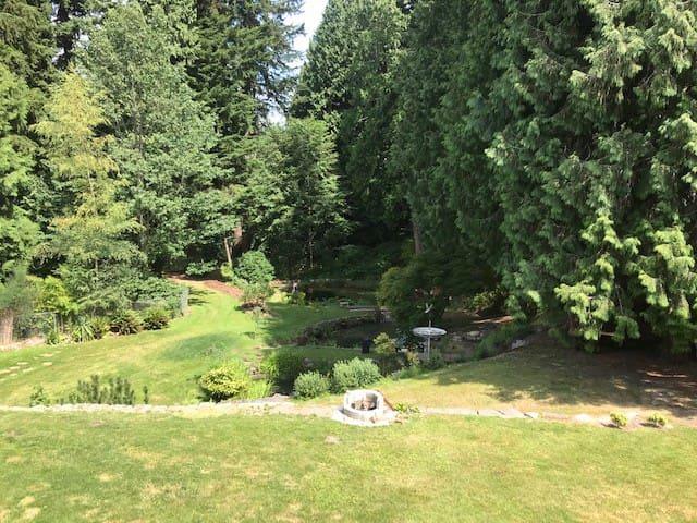 Three Ponds Retreat near Paine Field