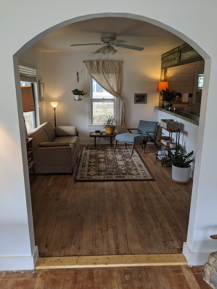 Stylish and Comfortable Bungalow in East Austin.