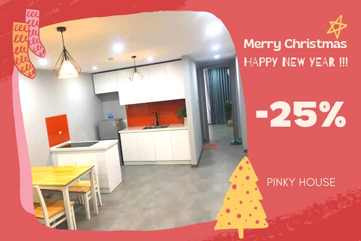 💝Pinky House💝 2.1 - 2br Apt near center Ha Noi