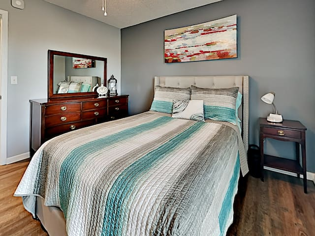Full bed bedroom  .. has the softest mattress