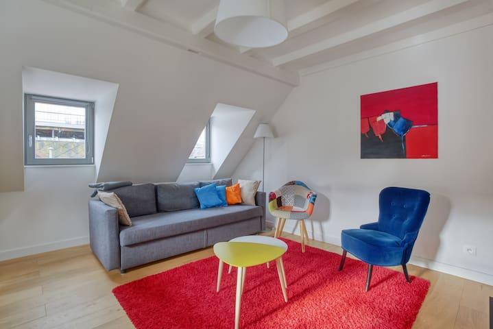 Pleasant living area