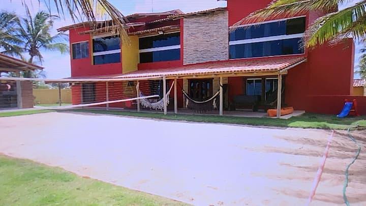 Casa de Praia com dois pavimentos em Nova Viçosa