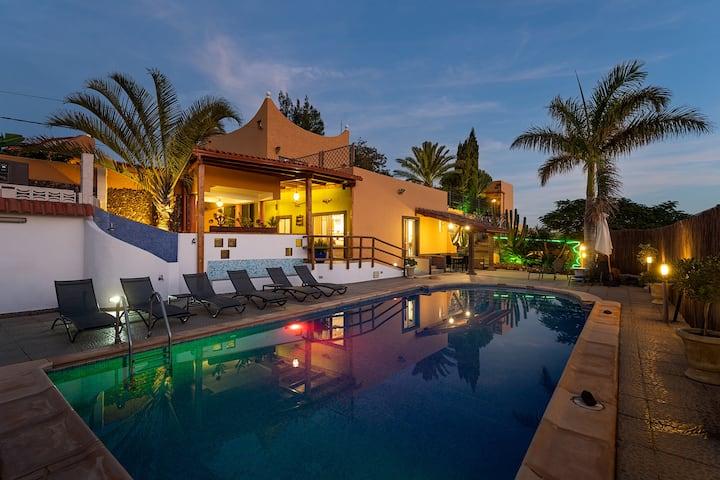 Villa Canaria en Guayadeque