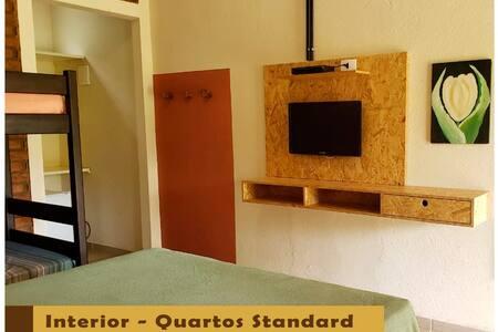 Interior dos quartos Standard