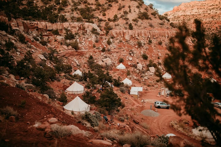 Zion Glamping Adventure - Tent 4