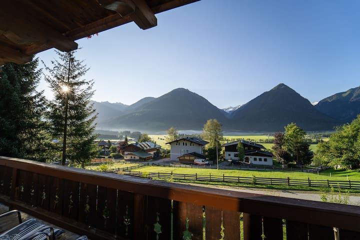 Apartment mit traumhaftem Blick auf die Berge