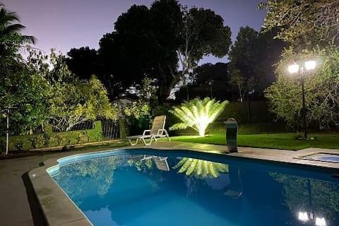 Bela casa de campo com piscina a 30 min do Recife