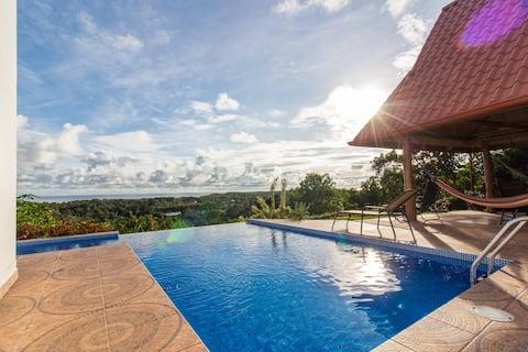 Spectacular House Ocean View Uvita Bahia Ballena