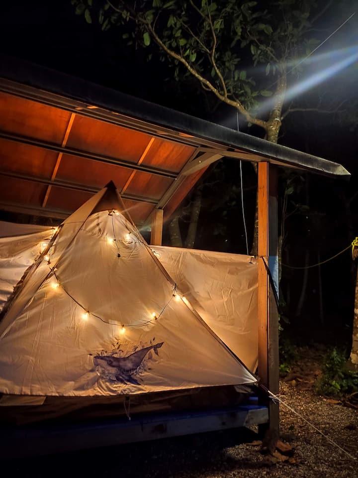 吉米探險家 『冷氣』涼亭兩人帳 Jimmy Explorer's campsite~ 2 pax