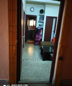 Wide Entrance into the apartment