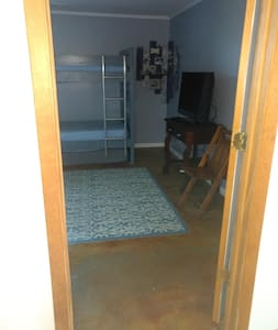 """Interior doors 32"""" wide and wheelchair accessible."""